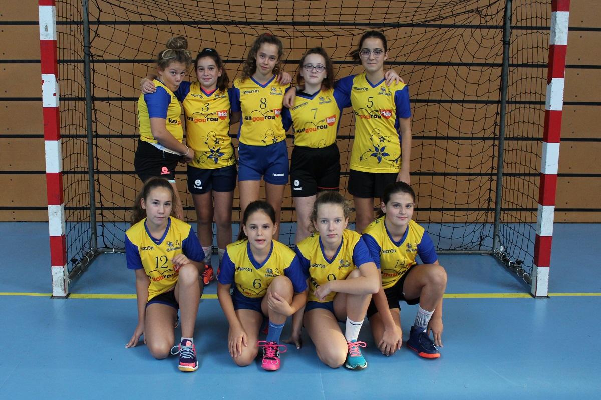 U13 féminine Saint-Xandre Handball