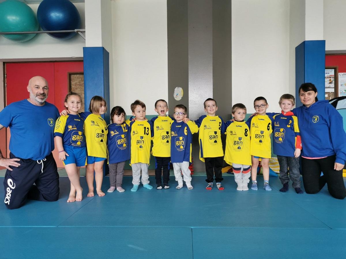 baby handball Saint Xandre